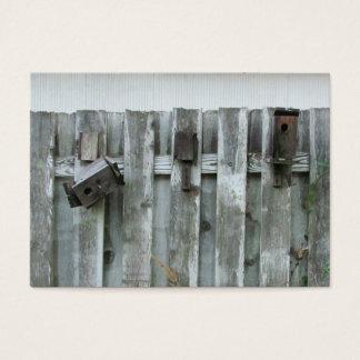 Old Bird Houses ~ Chubby Business Card