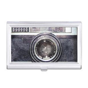 Camera business card holders cases zazzle old black camera business card case colourmoves