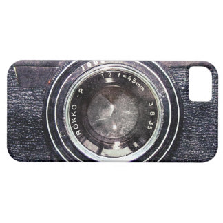 Old black camera iPhone 5 cases