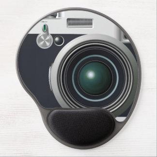 Old black camera gel mousepads