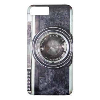 Old black camera iPhone 7 plus case