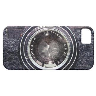 Old black camera iPhone SE/5/5s case