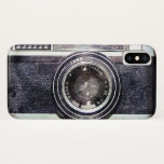 """Old black camera iPhone x case<br><div class=""""desc"""">Hello and welcome,  this design is a retro camera .  #photography #camera #vintage #analog #filmphotography  #cool  #funny #hipster #photographer #urban #photo #retro</div>"""