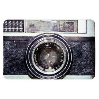 Old black camera magnet