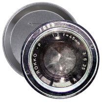 photography, camera, vintage, analog, film, humor, funny, cool, photographer, hipster, urban, photo, retro, old school, geek, analogic, cute, old, best, 35mm, button, Button with custom graphic design