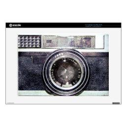 """Old black camera skins for 15"""" laptops"""