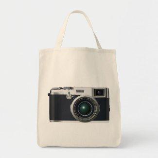 Old black camera
