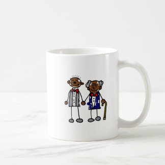 Old Black Gay Couple Coffee Mug