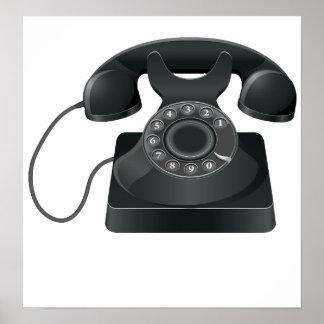 Old Black Phone Poster