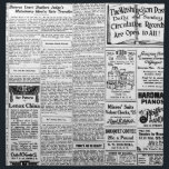 """Old black &amp; white newspaper, vintage retro advert cloth napkin<br><div class=""""desc"""">This retro item cover contains a faux page from an old black and white newspaper, complete with editorial and advert content. The text is old and so is the font (albeit too small to read!). There is at least one amusing advertisement and article in the classic style that you&#39;d expect....</div>"""