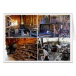 Old Blacksmith Shops Greeting Card