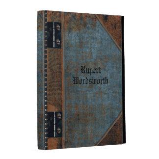 Old Bleu Book style Customizable iPad Folio Covers