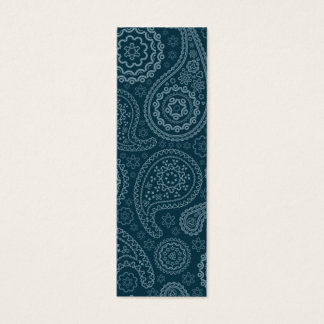 Old blue and turquoise paisley.png mini business card