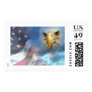 Old Blue by Gregory Gallo Postage Stamp