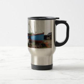 Old Blue Fishing Smack Travel Mug