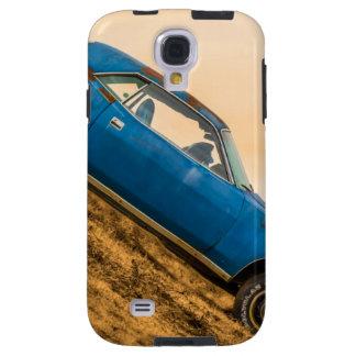 Old Blue Plymouth Barracuda Galaxy S4 Case