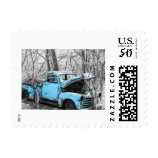 Old Blue Postage