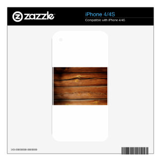 Old Board Skin For The iPhone 4