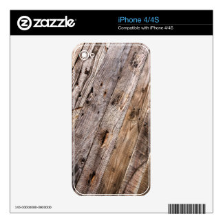 Old boards. iPhone 4S decal