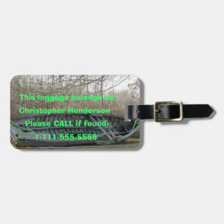Old Boat - Customizable Luggage Tag