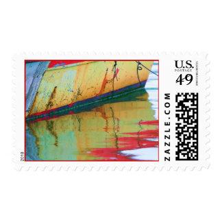 Old Boat Stamp