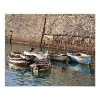 Old Boats Mevagissey Cornwall England Photo Art