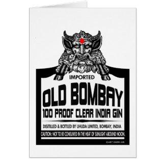 Old Bombay Gin Card
