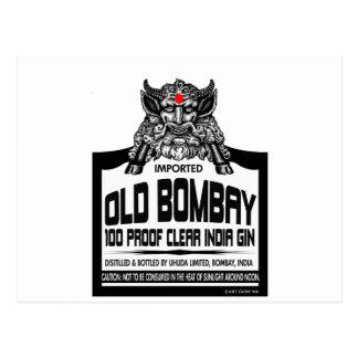 Old Bombay Gin Postcard
