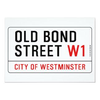 Old Bond Street Card