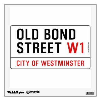 Old Bond Street Wall Decal