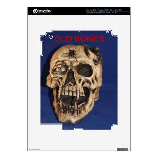 Old Bone's Zazzle Skin Decal For iPad 3