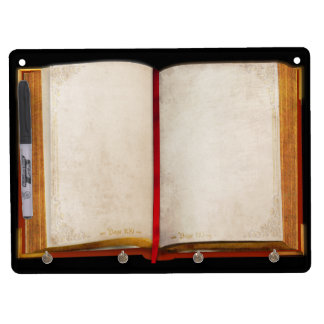 Old Book Dry Erase Boards