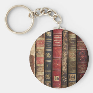 Old Book Keychain