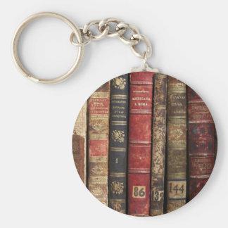 Old Book Keychain