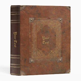 Old Book Mini Binder