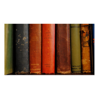 Old Books Photograph Business Cards