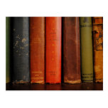 Old Books Photograph Post Card