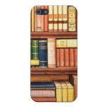 Old Books Vintage Library Bookshelf Cover For iPhone 5/5S