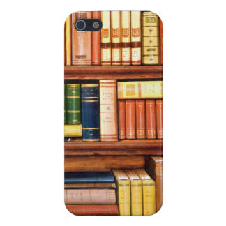 Old Books Vintage Library Bookshelf iPhone SE/5/5s Cover