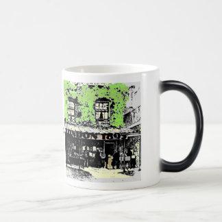 Old Bookshop 11 Oz Magic Heat Color-Changing Coffee Mug