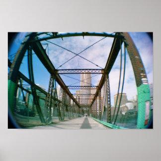 old boston bridge poster