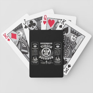 Old Bourbon Label Bicycle Playing Cards