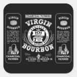Old Bourbon Label Sticker