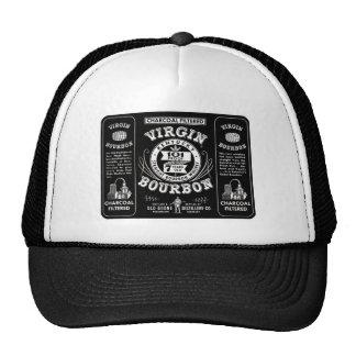 Old Bourbon Label Trucker Hat