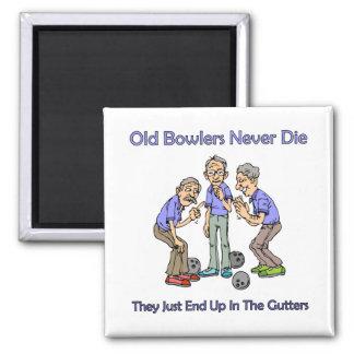 Old Bowlers Never Die Magnet