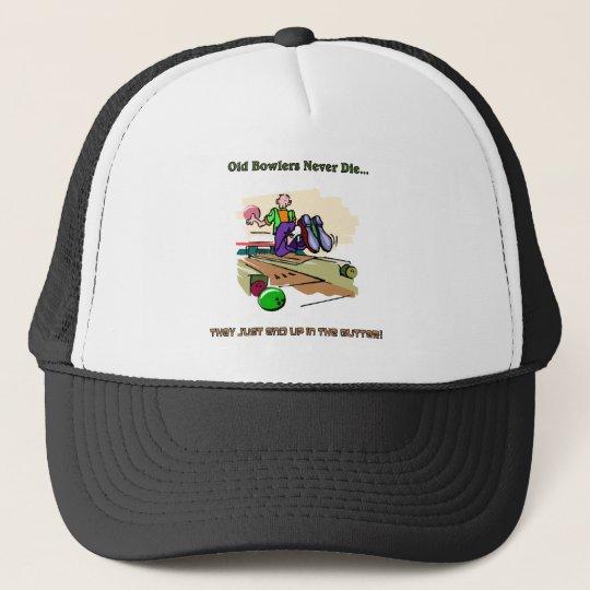 Old Bowlers Never Die... Trucker Hat