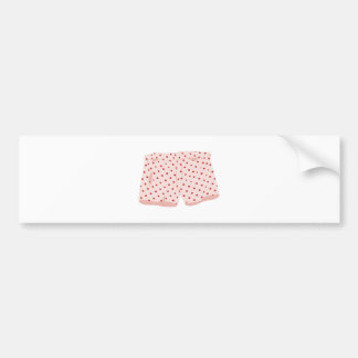 Old Boxer Shorts Bumper Sticker