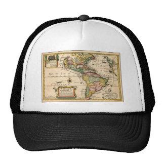 Old Brazil Map - Mapa Antigo Trucker Hat