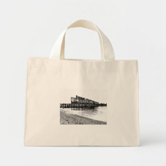old breakwater mini tote bag
