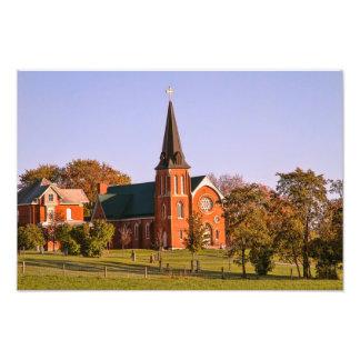 Old Brick Church Photo Print